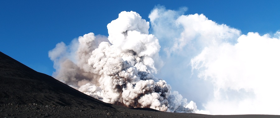 Mt. Etna - Pyroclastic Flows